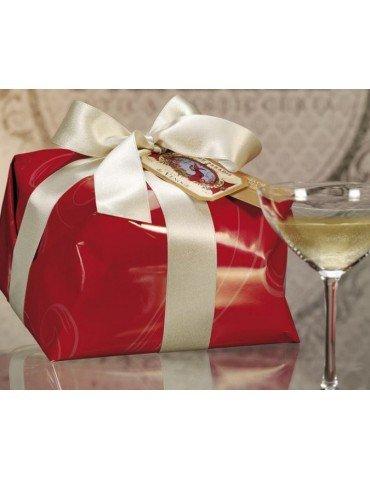 """Panettone classico au """"Champagne de Venoge"""" Pasticceria Muzzi 1kg"""