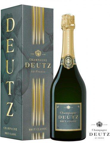 Champagne Deutz Brut Classic avec Etui